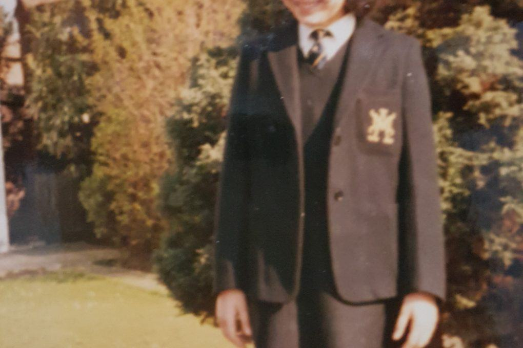 Historic image of pupil from St Augustines